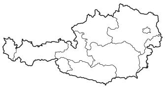 Übersichtskarte Österreich