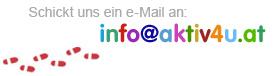 Schickt uns eine eMail! Wir freuen uns über Post!